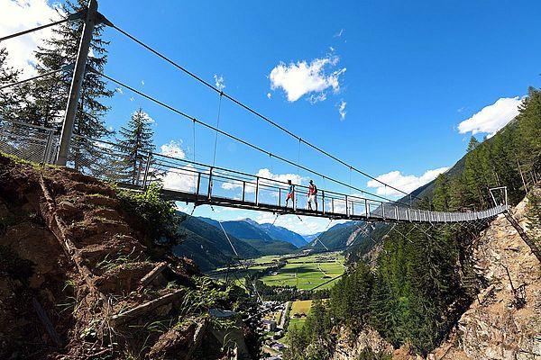 Hängebrücke in Längenfeld