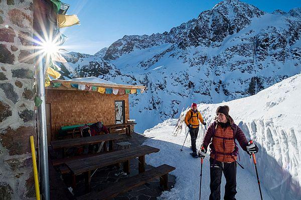 Schneeschuhwanderung im Ötztal