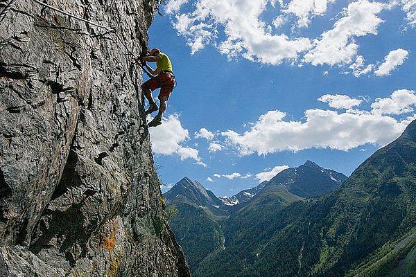 Klettern in Längenfeld